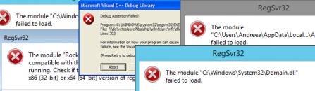 How to remove RegSvr32.exe virus error