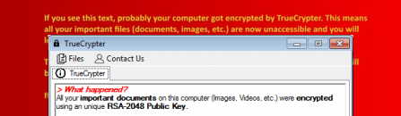 Decrypt and remove TrueCrypter (.enc) ransomware