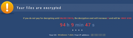 UltraCrypter ransomware: how to recover .cryp1 virus files