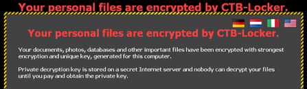 """Your personal files are encrypted by CTB Locker"": decrypt and remove ransomware virus"