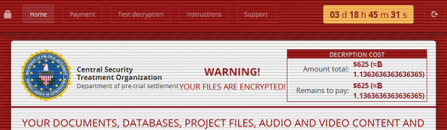 Decrypt .cry files virus and remove CryLocker ransomware