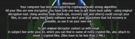 JohnyCryptor ransomware: decrypt .johnycryptor@hackermail.com.xtbl virus files