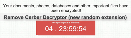 Cerber Decryptor: how to remove Readme.hta ransomware