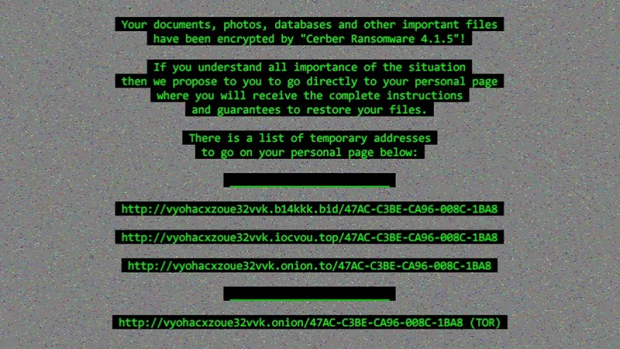 Cerber Ransomware 4.1.5 wallpaper