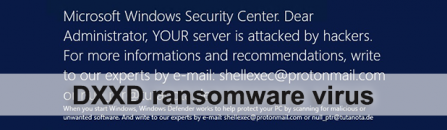 DXXD ransomware: how to decrypt .dxxd files virus