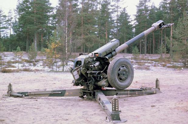 122 mm D-30 howitzer