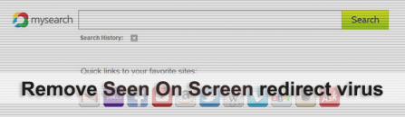 Seen On Screen virus: remove New Tab in Chrome