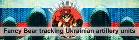 Fancy Bear tracking Ukrainian artillery units