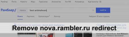 Remove nova.rambler.ru virus from Firefox, Chrome, IE and Safari