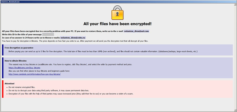 Onion ransomware drops Info.hta recovery manual