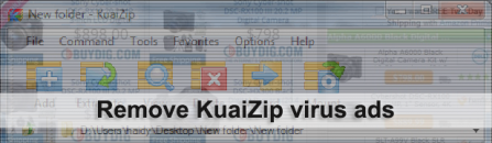 How to uninstall KuaiZip virus ads