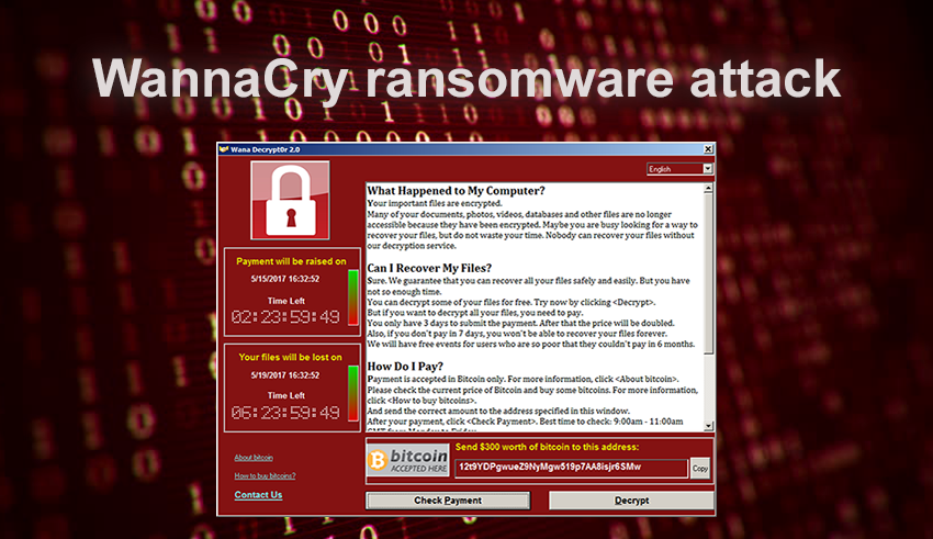 Wanna Cry ransomware attack: dissecting the campaign