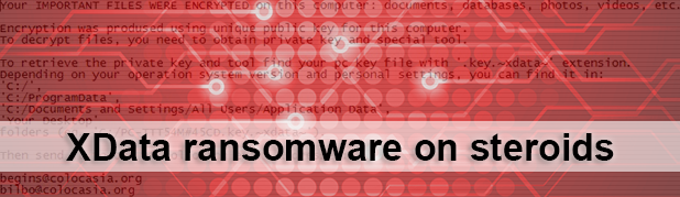 XData ransomware on steroids