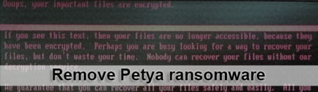Petya ransomware removal and system recovery (upd. June 27)