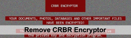 CRBR Encryptor virus: remove and decrypt ransomware files