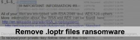 Decrypt .loptr files – Locky ransomware virus variant