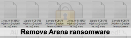 Arena virus: how to recover .arena extension files (Dec. 2017)