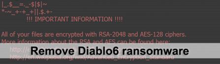 Decrypt .diablo6 files – Diablo6 variant of Locky ransomware [upd. Oct. 2017]