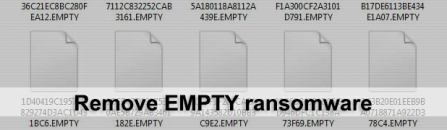 EMPTY ransomware: decrypt .EMPTY virus files