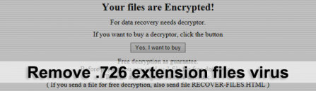 Recover .726 files virus: GlobeImposter 2.0 ransomware removal
