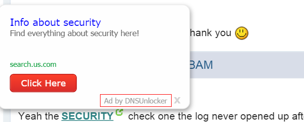 Ad by DNS Unlocker