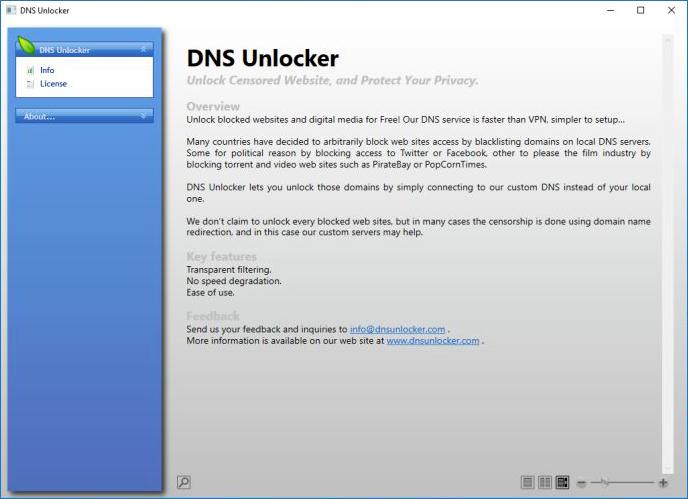 DNS Unlocker GUI