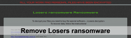 Losers ransomware – how to decrypt .losers extension files