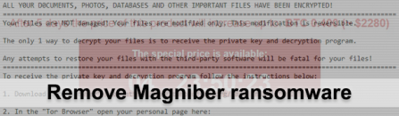 My Decryptor [Magniber] ransomware removal: .ihsdj and .kgpvwnr virus files recovery