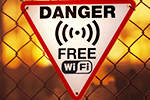 Tread carefully around public Wi-Fi