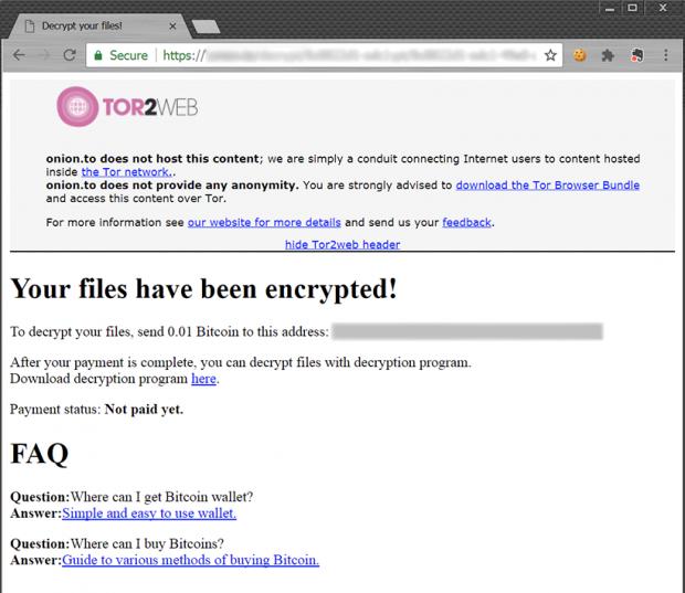 ShurL0ckr decryption service page