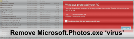 How to fix Microsoft.Photos.exe 'virus' issue in Windows 10