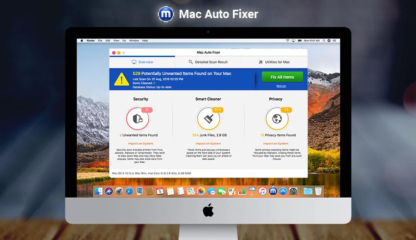 Mac Auto Fixer virus removal from Mac - MySpyBot