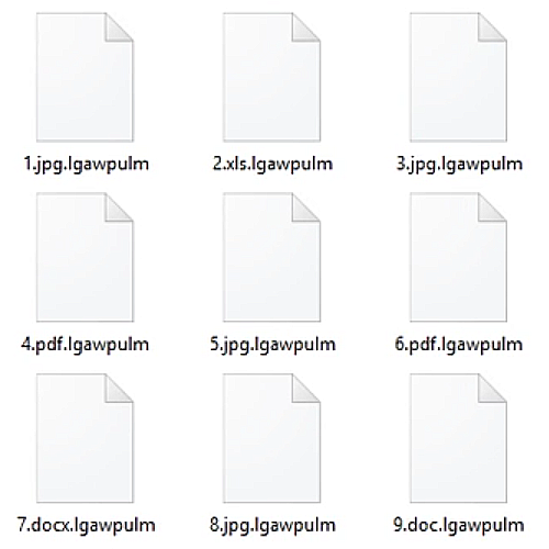 This is what files encrypted by GandCrab v5.0.3 look like