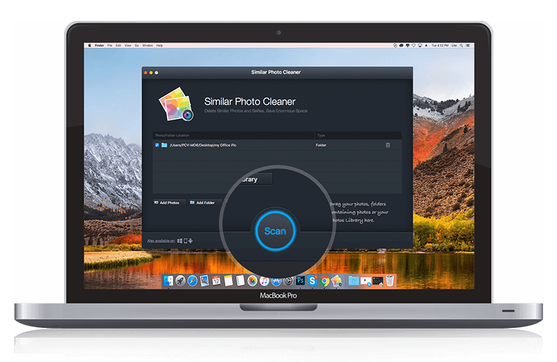 Similar Photo Cleaner is all about noxious scans and popups alerts