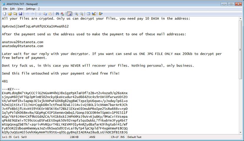 ANATOVA.txt ransom note