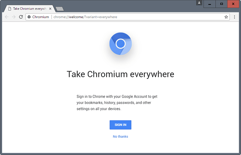 Benign in and of itself, the Chromium platform can be abused by adware distributors