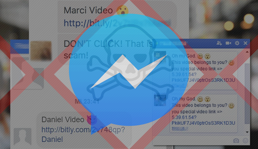 Facebook Messenger virus video - Youtube link removal [May