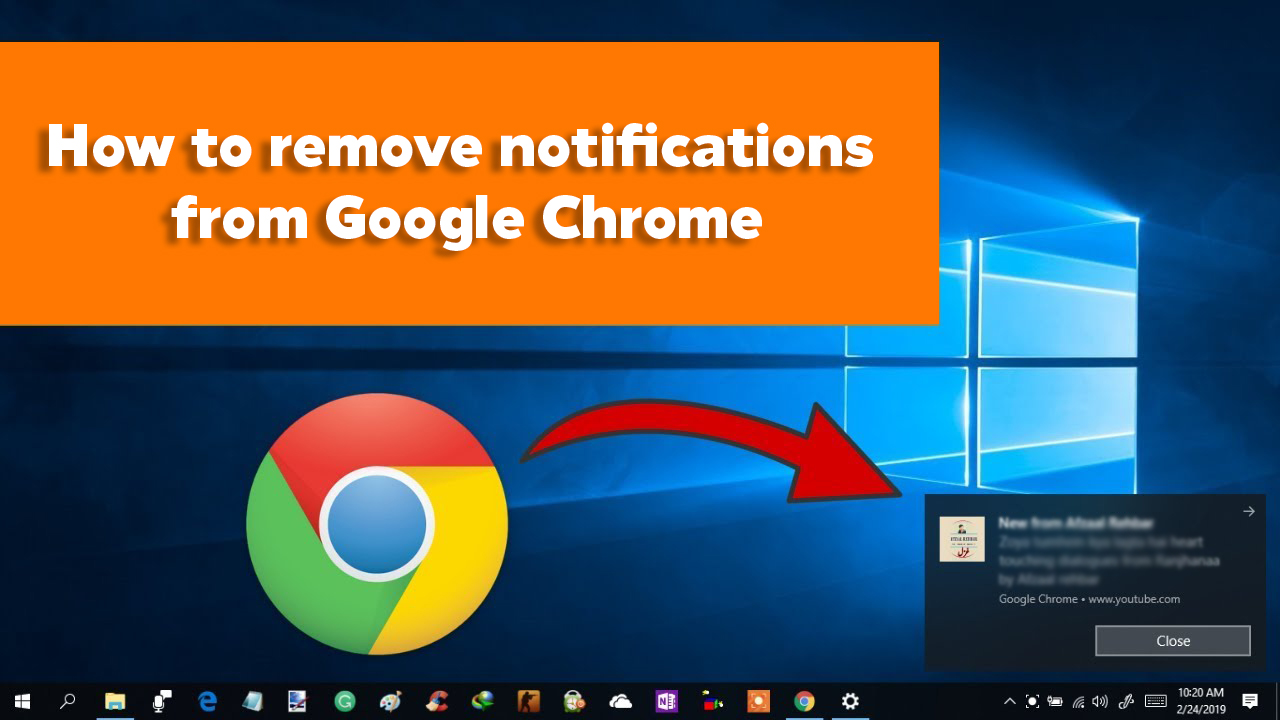 How To Remove Notifications From Google Chrome Myspybot