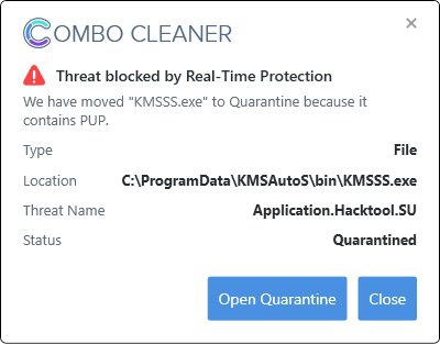Real-time threat detection in action